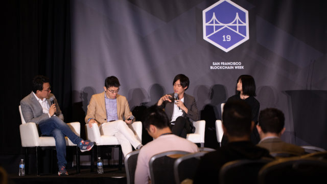 CEO Tomo took the stage at San Francisco Blockchain Week 2019