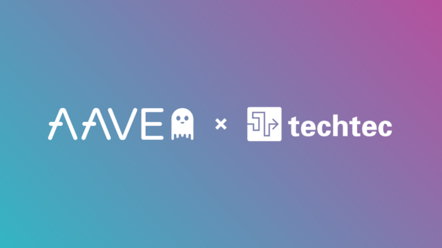 "The first and only company in Japan to be adopted for the ""Aave Ecosystem Grants"" by Aave"